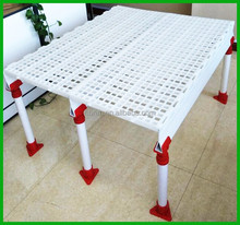 plastic, pure pp material and livestock type plastic slat <strong>floor</strong> for chicken farming