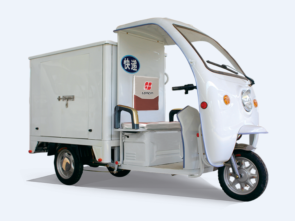 China heavy load 350cc/ 500cc/600cc/800cc cargo tricycle with cabin/three wheel covered motorcycle india