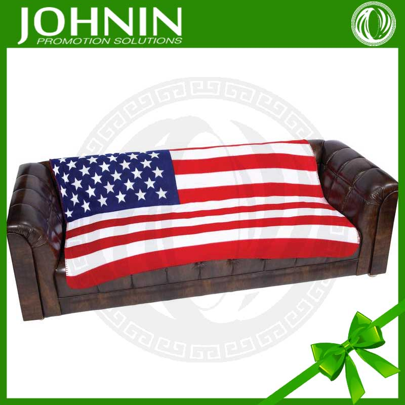 2016 Hot Selling Different Kinds Of National Flag Blanket