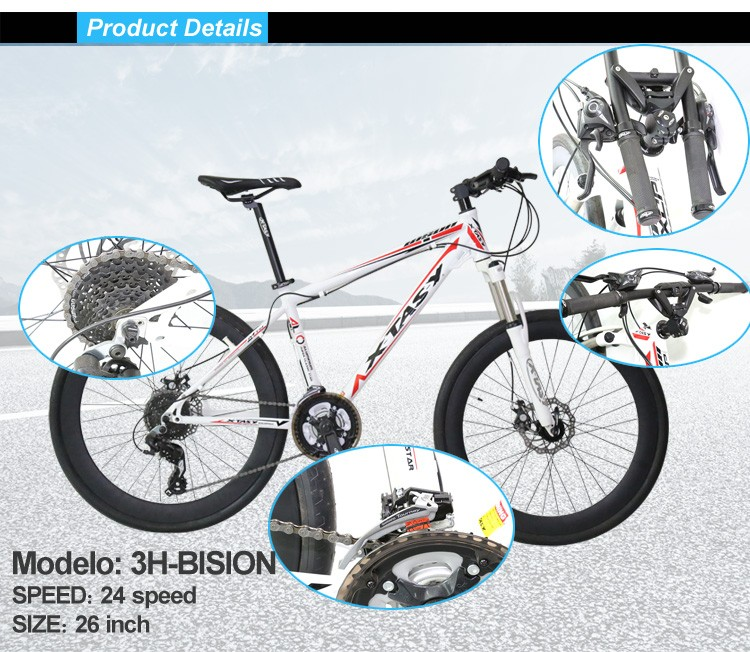 XTASY mtb bike China fork suspension mountain bike