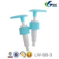 China manufactor lotion dispenser plastic pump for cosmetic bottle
