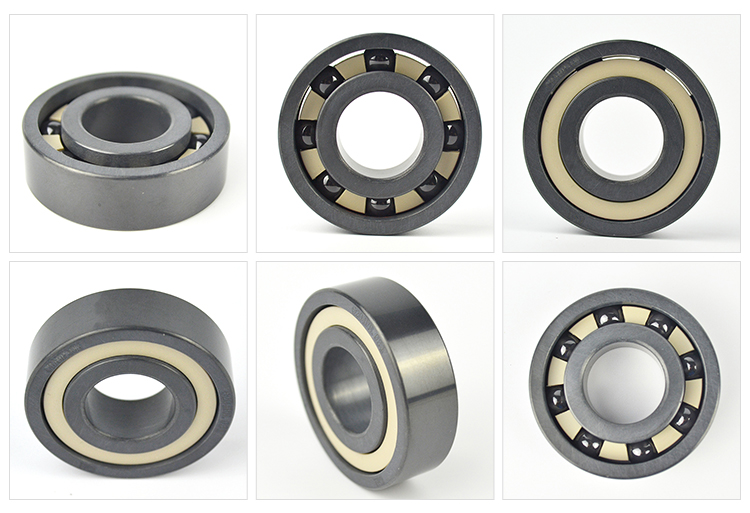 zro2 ceramic bearing 6205 Si3N4 AL2O3