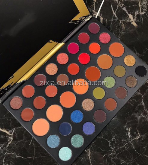 New product Multi makeup colored High Quality organic Eyeshadow Palette,39 color Glitter pallet eye shadow