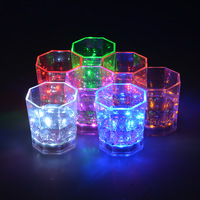 wholesales Custom flashing LED light cup for pub/KTV/Paty,dringking blinking led cups