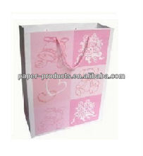 cheap small paper gift bags with handles/ cheap personalized gift bags/ small net gift bags