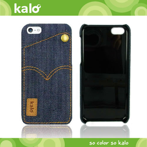 Denim Card Case for iPhone 5C case, mobile phone accessory