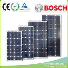 Shenzhen JCN cheap price 5w to 300w monocrystalline solar panel with ISO CE ROHS IEC certificates for sale