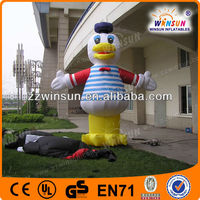 Promotion Inflatable Yellow Duck Model,character figures