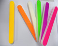 colorful straight shape sanding sponge nail file nail care kit