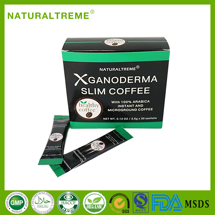 Chinese Weight Loss Products Ganoderma Mushroom Slimming Coffee