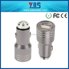 2016 Newest high quality 2 USB CAR CHARGER with 5V 1A 2.1A usb car charger dual usb fast charge