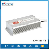 CE ROHS IP67 LPV-150-12 12V 12.5A 150w led waterproof meanwell power supply