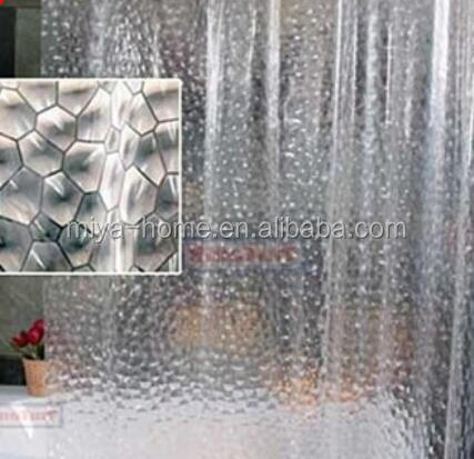 Best design 3D shower curtain / PEVA Shower Curtain / fancy shower curtains