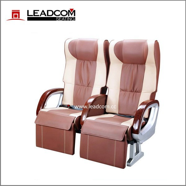 Leadcom luxury leather vip bus seat for sale CK32