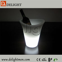 Outdoor Lighting remote control 16 color changeing big champagne bucket for outdoor use