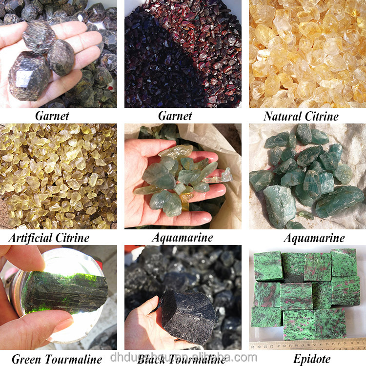 Wholesale Natural Rough Semi Precious Stones Unpolished Gemstone Raw Semi Precious Stone