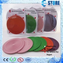 5000 Ion Quantum Disc Energy Coasters Cup Mat