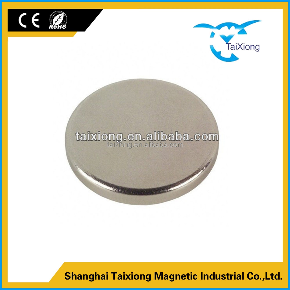 Latest new design Flatback n42 permanent ndfeb sheet thin magnet