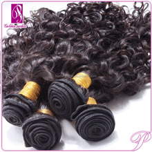 Peruvian Kinky Curly Hair Weft free Hair Weave Samples 40 inch blonde hair extensions