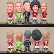 Soccer player figurines custom Kodoto soccer football player figurines