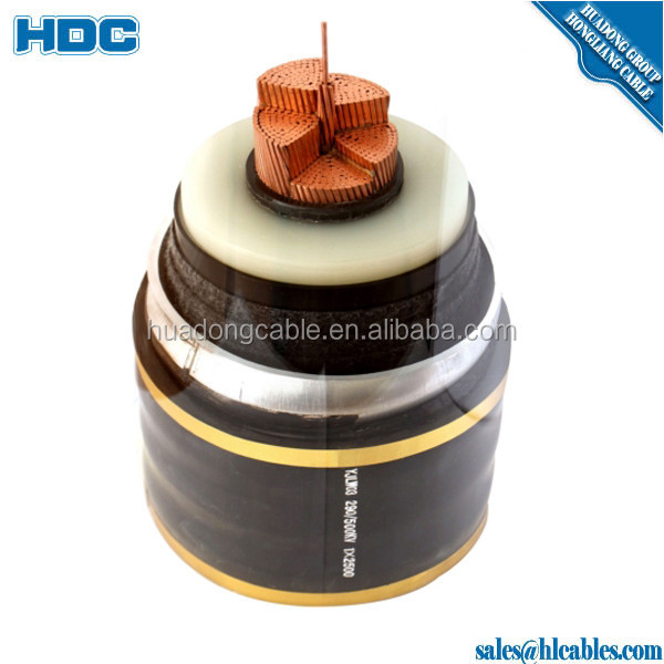 6/10KV GRADE IEC 60502Cu/XLPE/LC/SWA/PVC CABLE 3Cx35 Sq.mm,4Cx240 Sq.mmXLPE insulatedSteel Wire Armoured, Lead outersheathed
