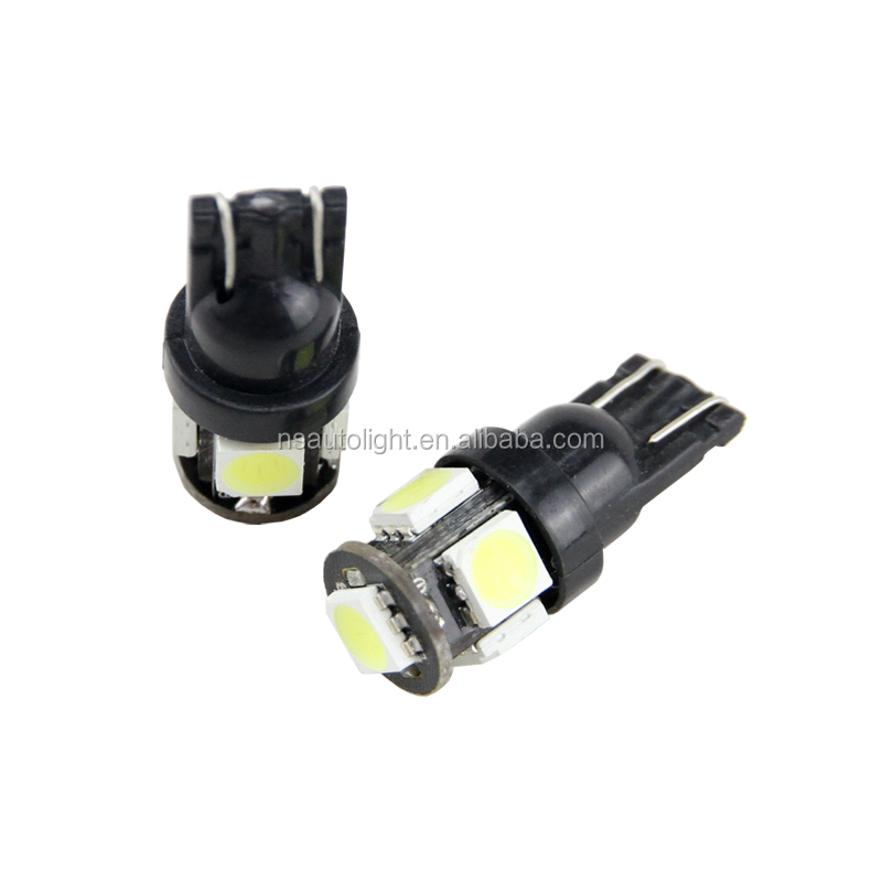 LED Car Lighting Top selller T10 5SMD 5050 Car LED Light Bulbs with Best Price and High quality