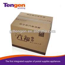2012 hot sale Solid Durable Corrugated colored shipping boxes