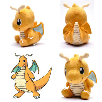 Doll Toy Great Gift Soft Pokemon Dragonite Lovely Pokedoll Stuffed Plush 7.5""