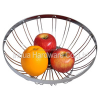 Metal Craft Iron Wire Handcraft Fruit Storage Basket