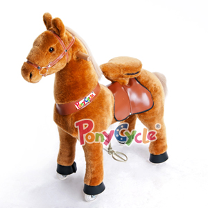 Man Power Plush Riding Walking Horse Toy Pony Cycle Children Ride-on Car