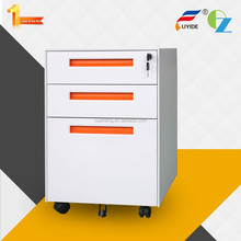 High quality customizable Office and Home diy movable office cabinet pedestal with drawer with inter-locking system