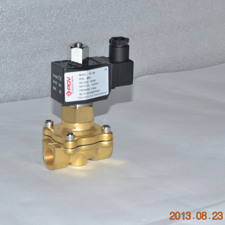direct acting normally open stainless steel oil burner solenoid valve 24v