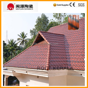 Glazed Ceramic Roofing Tile for Kerala