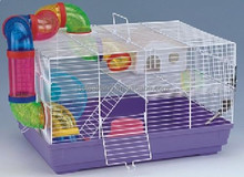 small luxury wire metal hamster cage rat cage rabbit cage wholesale
