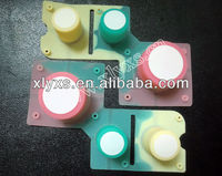 silicone /rubber push button switch