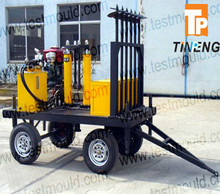 hydraulic Static cone penetrometers truck drag type CPT machine
