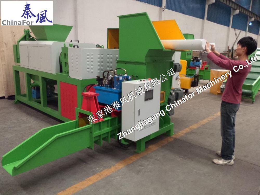 machine for XPS recycling,EPS cold compactor recycling machine