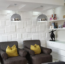 Brick Textured 3d Wall Panel In Mdf