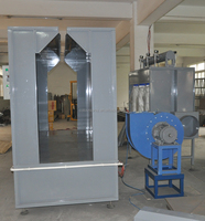 HI COLO New product spraying booth/spray powder paint chamber