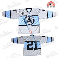 Custom high quality sublimation team usa hockey jersey