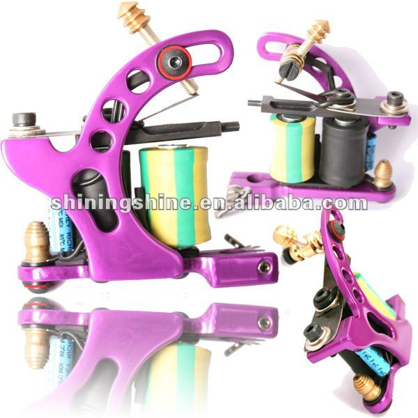 2017 hot sale new air craft aluminum tattoo machine