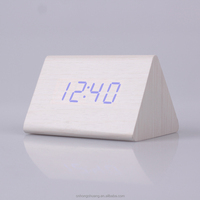 HC003 Wooden Clocks Digital Clocks With Large Display