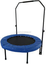 Commercial Equipment Professional Outdoor Biggest Joy Jump Sports Power 6ft 8ft Fitness Trampolines With Handle For Child Game