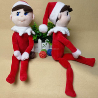 36cm Plush Christmas Elf Toy On