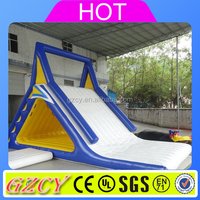 used inflatable water slide for sale/giant inflatable floating water slide/inflatable water games