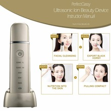 3MHZ times oscillation per second rechargebale portable facial high frequency ultrasonic skin
