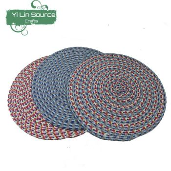 Round Cotton Rope Placemats And Coaster