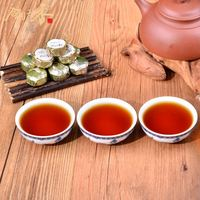 women slimming tea black tea dust tea