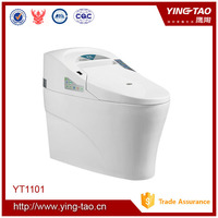 chaozhou wholesale colored jet flush smart toilet