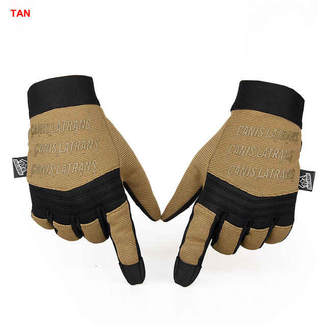 HK14-0091 Outdoor Sports Hiking Fishing Cycling Drive Tactical Gloves Full Finger Lycra Quick Drying Breathable Soft Comfortable